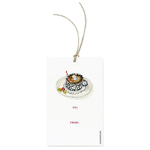 S/12 Hot Chocolate Gift Tags