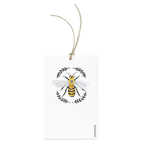 S/12 Queen Bee Gift Tags