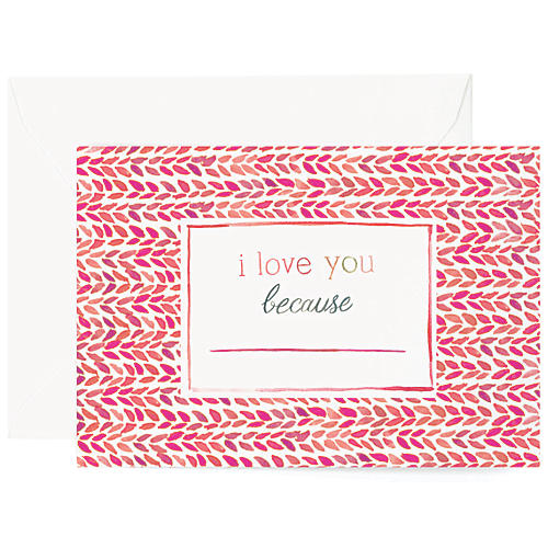 S/8 Fill In The Blank Greeting Cards