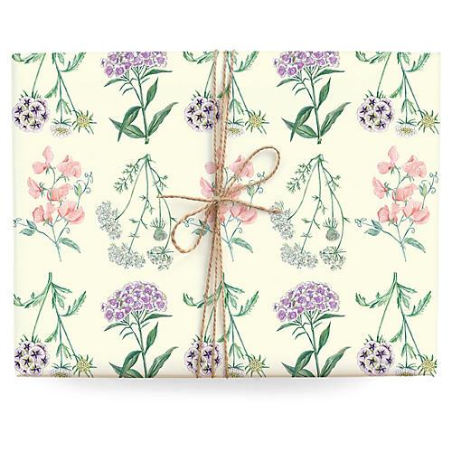 S/3 Botanic Gift Wrap