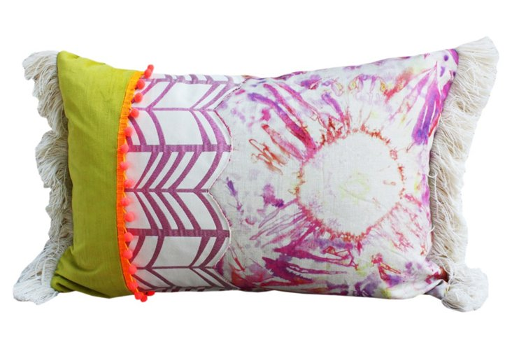 Kit Flare Patchwork Pillow