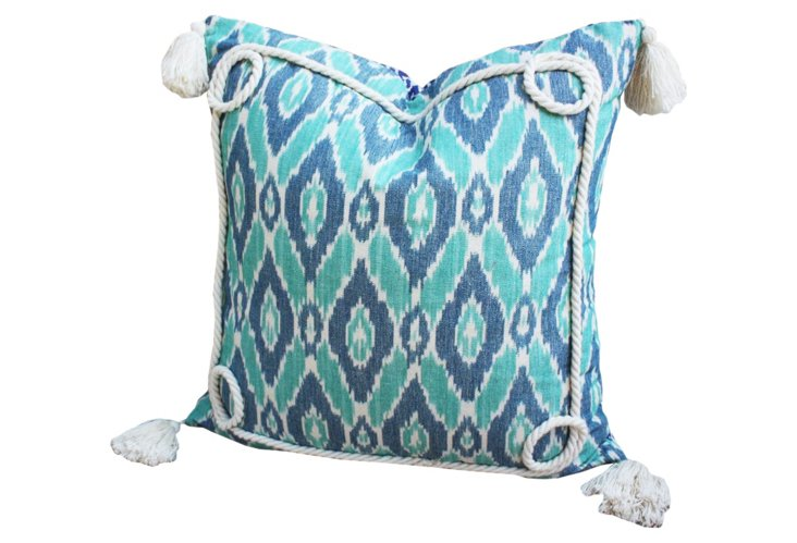 Glace Pillow, Aquamarine