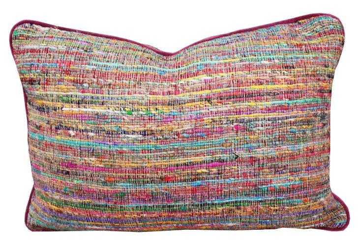 Padma Rosa 14x20 Pillow, Multi