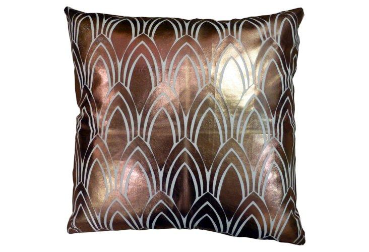 Copper Foil Pillow