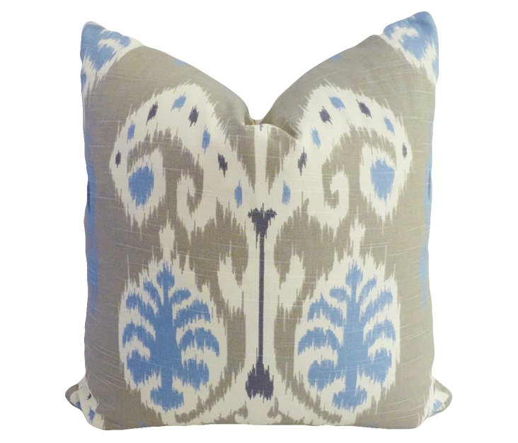 Exotic 20x20 Cotton Pillow, Multi