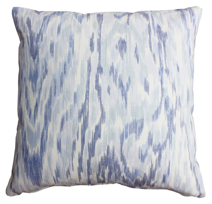 Cascade 20x20 Cotton Pillow, Purple