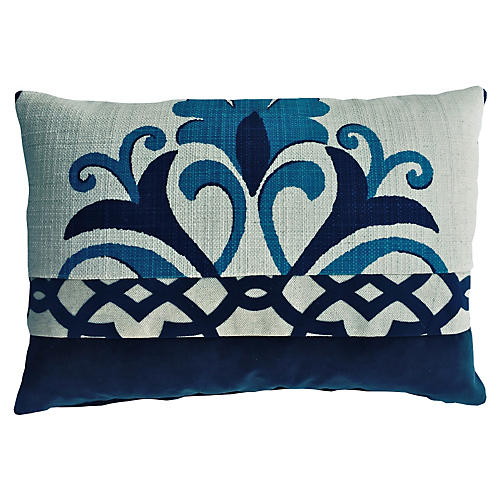 Issy 14x20 Pillow, Blue