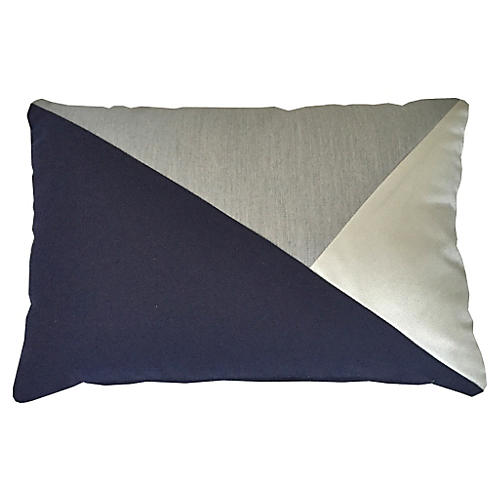 Outrigger 14x20 Outdoor Pillow, Gray
