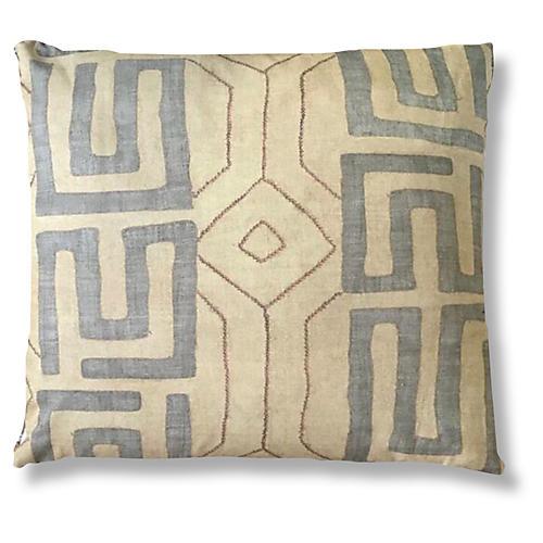 Bantu 24x24 Pillow, Sand