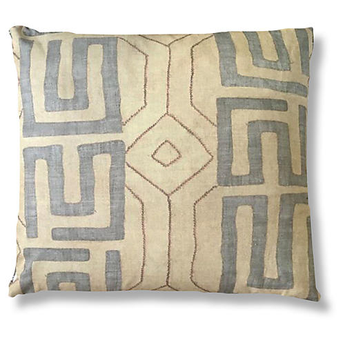 Bantu 24x24 Pillow, Sand