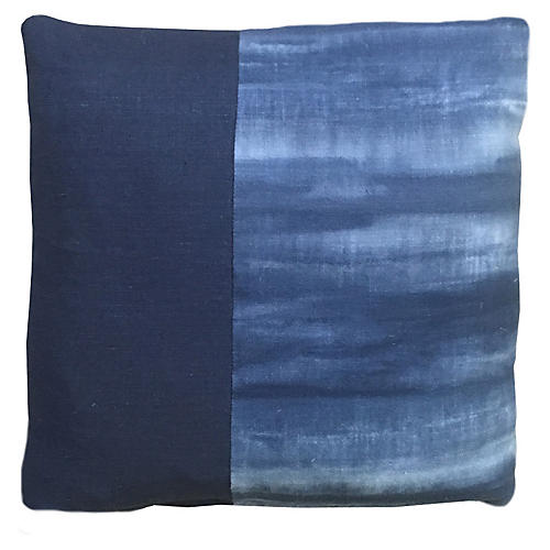 Griffin 20x20 Pillow, Indigo