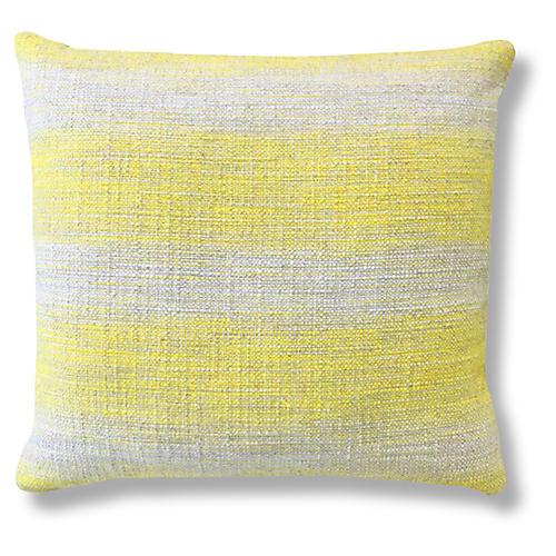 Sana Sunshine 20x20 Pillow, Yellow