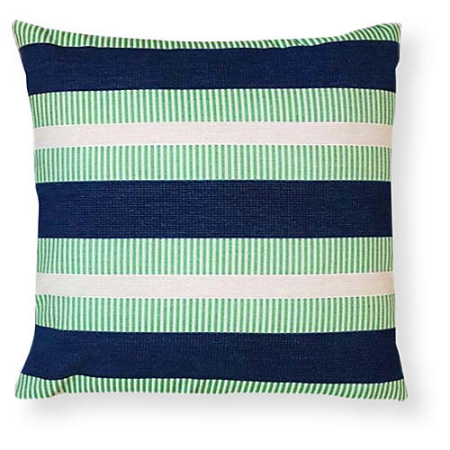 Teagan 20x20 Outdoor Pillow, Lagoon