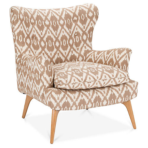 Sonja Accent Chair, Café