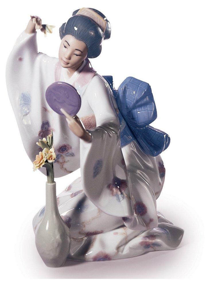 Mirror Mirror Porcelain Woman
