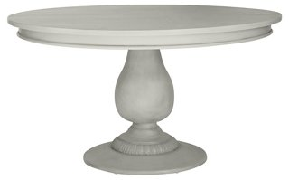 Charlotte Round Dining Table, Old White
