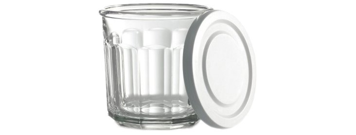 S/4 Working Glasses w/ Lids, 14 Oz