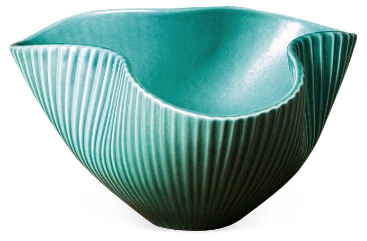 """9"""" Pinch Bowl, Jade"""