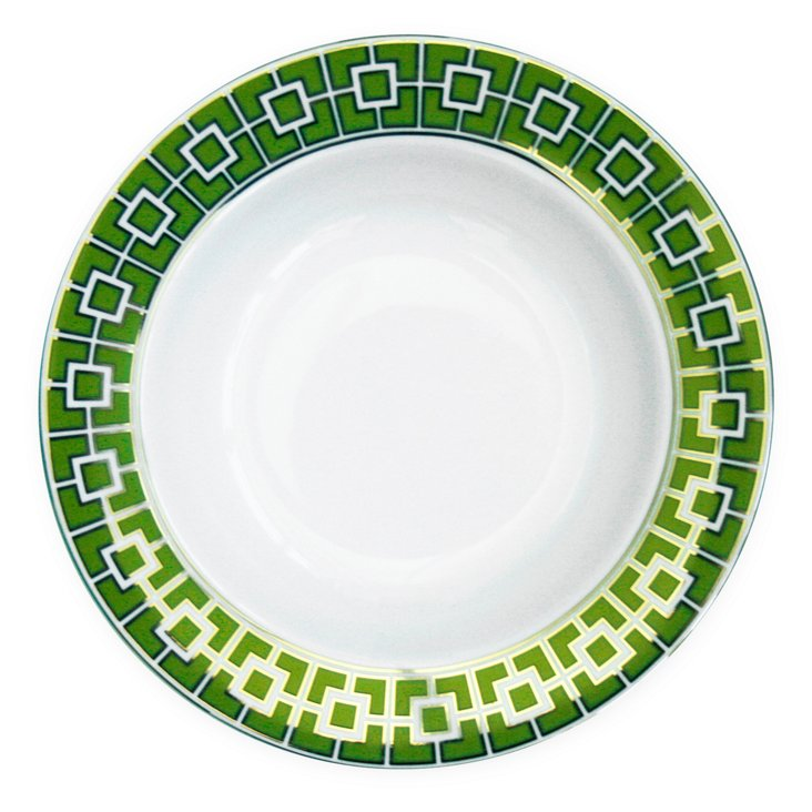 S/4 Nixon Dinnerware Bowls, Green