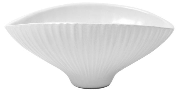 "10"" Anemone Bowl, White"