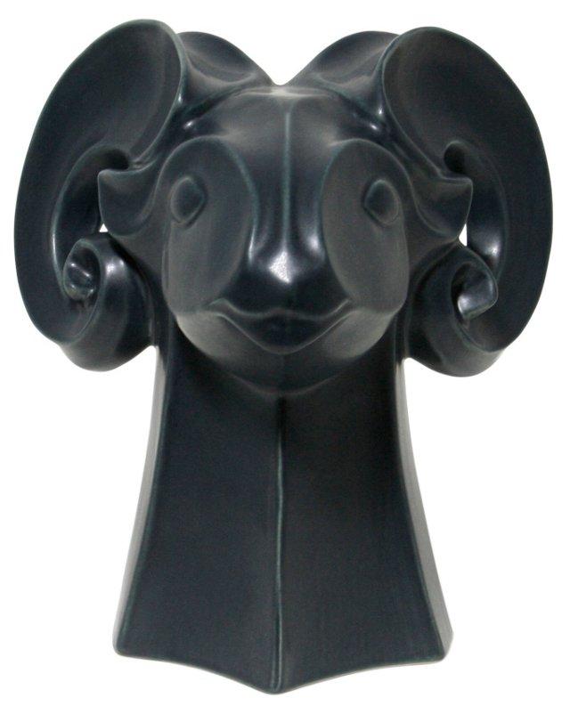 "10"" Rams Head, Midnight Black"