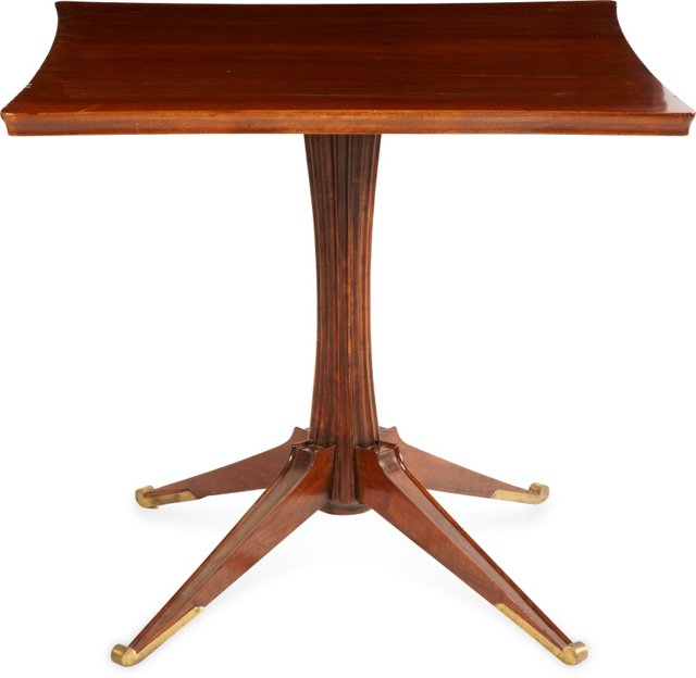 1930s Square Card Table