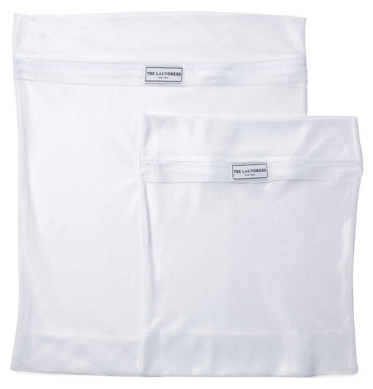 S/2 Mesh Washing Bags, Delicates