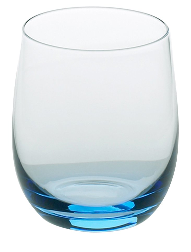S/4 Oyyo Stemless Glasses, Blue