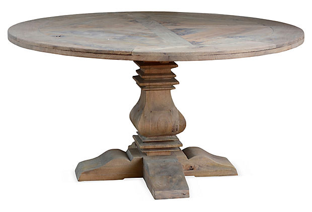 60 Reclaimed Round Dining Table The Art Of Industry One Kings