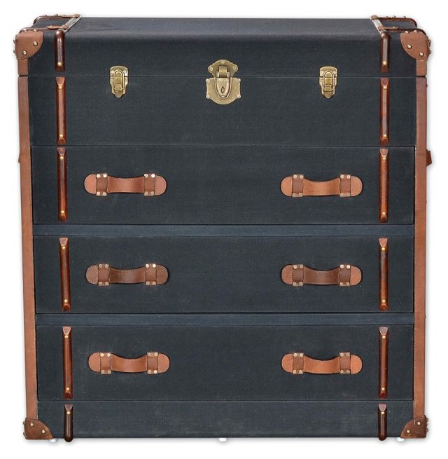Tate 3-Drawer Trunk