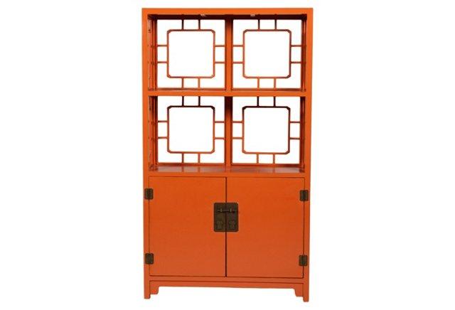 Kara Display Shelf, Orange