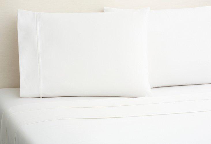 King Sheet Set, White