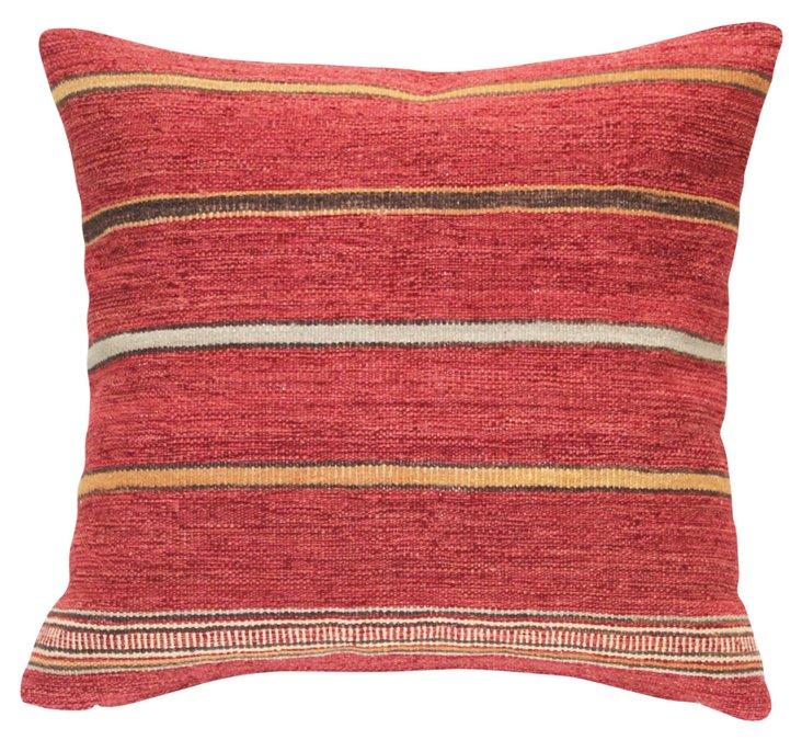 Cheyenne 24x24 Pillow, Red