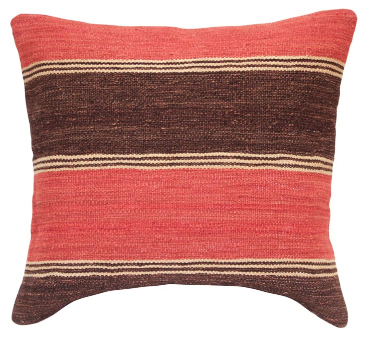 Longmont 20x20 Pillow, Brown