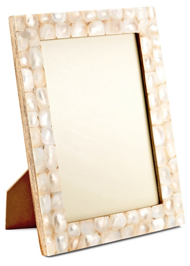 Mother-of-Pearl Frame, 5x7, Pearl