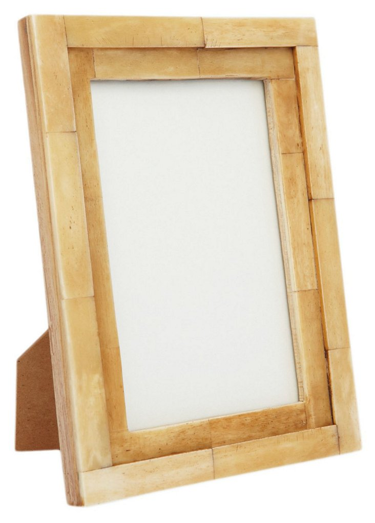 Step Bone Frame, 4x6, Tan