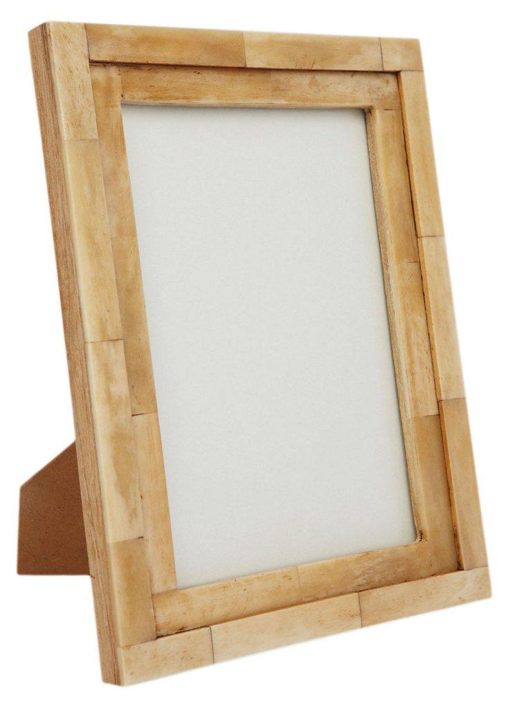 Step Bone Frame, 5x7, Tan