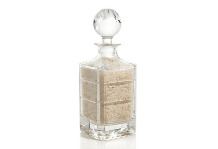 Tryst Bath Salts in Lg Crystal Decanter