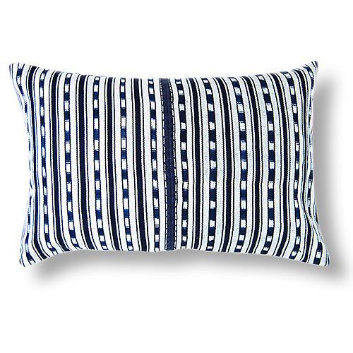 Del Lago 16x24 Pillow, Indigo