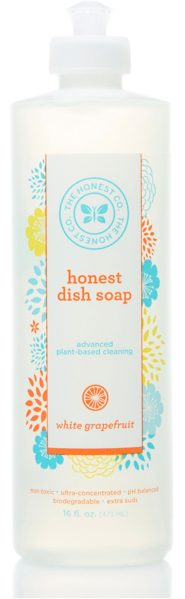 White Grapefruit Dish Soap, Set of 2