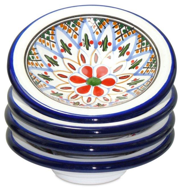 S/4 Tabarka Round Sauce Dishes