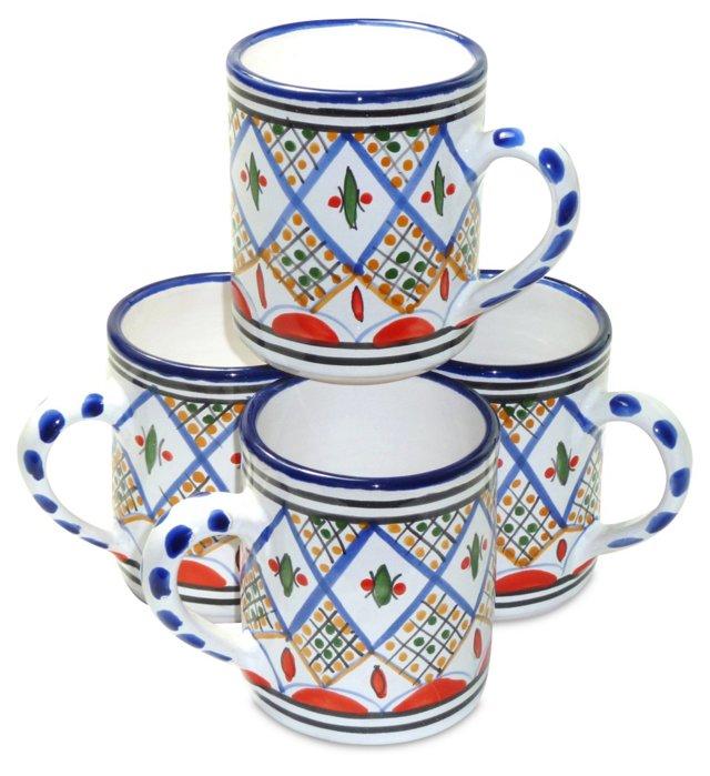 S/4 Tabarka Mugs, Small