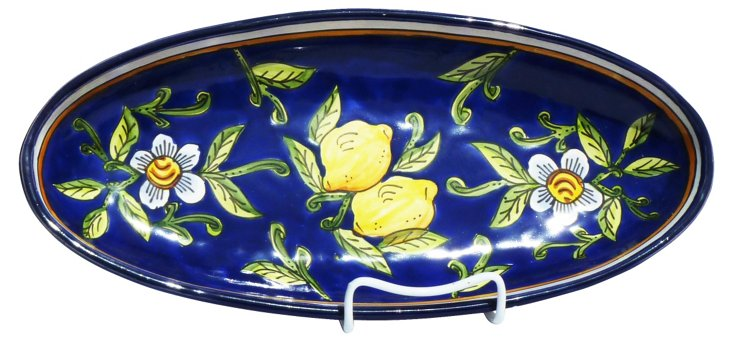 Citronique Oval Platter, Large