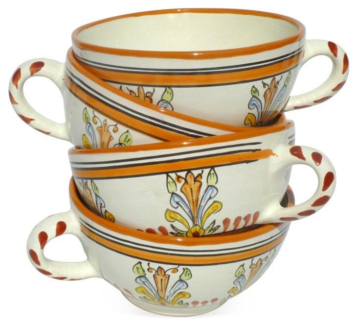 S/4 Sauvage Latte Mugs