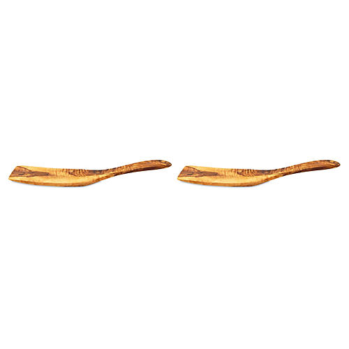 S/2 Olivique Spatulas, Natural