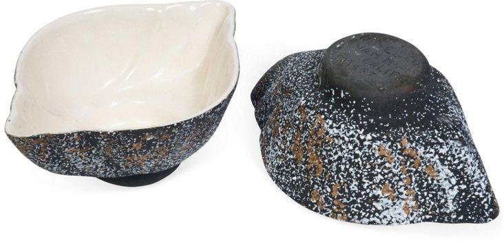 Midcentury Ice Cream Bowls, Set of 2