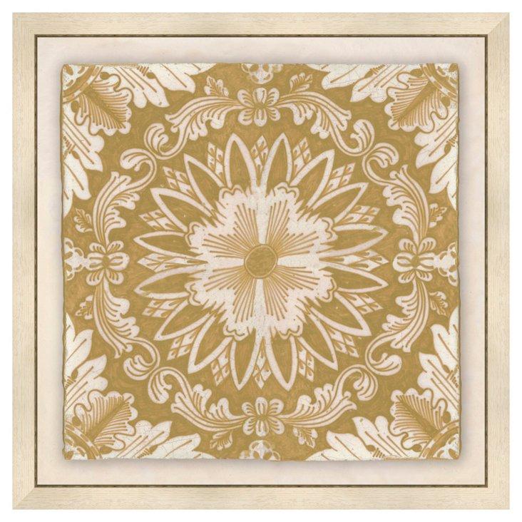 Delft Tiles - Yellow II