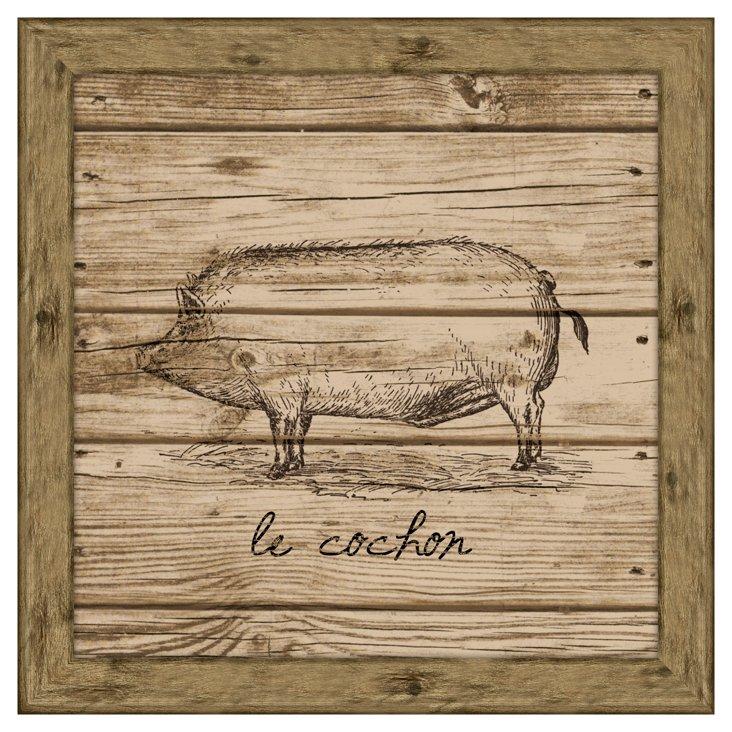 Hog (Wood Planks)