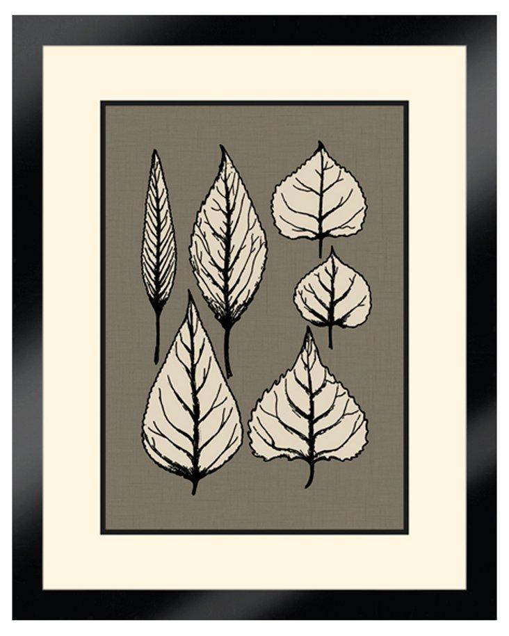 Stylized Leaves I