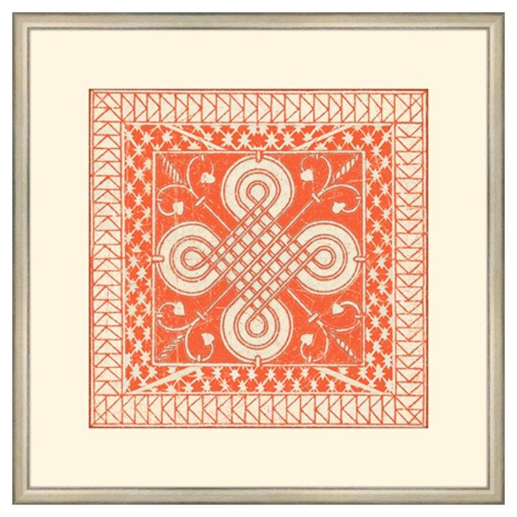 Small Tangerine Tile II